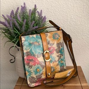🌟Patricia Nash Crossbody First Bloom Collection